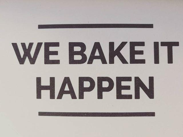Great baker tagline :-D