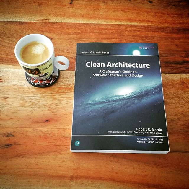 Looking forward to read this one. #unclebob #cleancode #cleancoder #cleanarchitecture